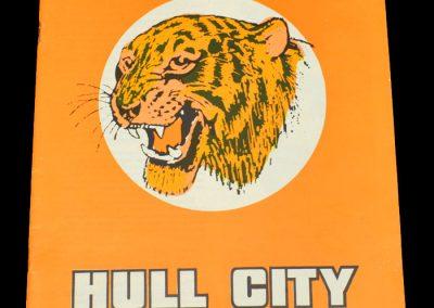 Hull v Aston Villa 07.04.1973