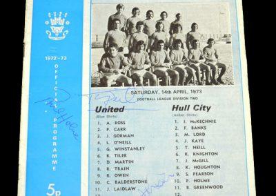 Hull v Carlisle 14.04.1973