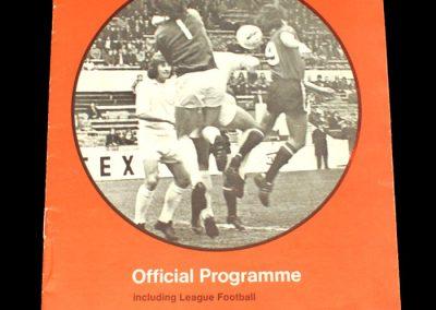 Hull v Swindon 24.04.1973