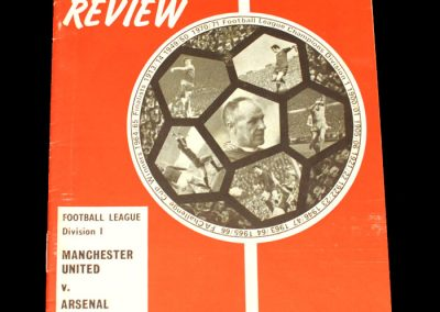 Man Utd v Arsenal 20.08.1971 (played at Liverpool)
