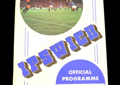 Man Utd v Ipswich 07.09.1971 - League Cup 2nd Round