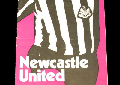 Man Utd v Newcastle 23.10.1971