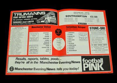 Man Utd v Spurs 13.11.1971