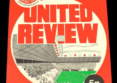 Man Utd v Notts Forest 04.12.1971