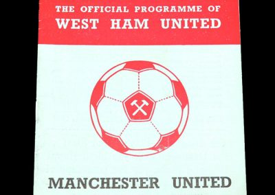 Man Utd v West Ham 01.01.1972