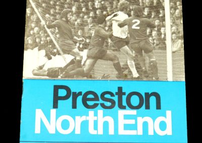 Man Utd v Preston 05.02.1972 - FA Cup 4th Round