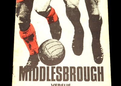 Man Utd v Middlesbrough 29.02.1972 - FA Cup 5th Round Replay