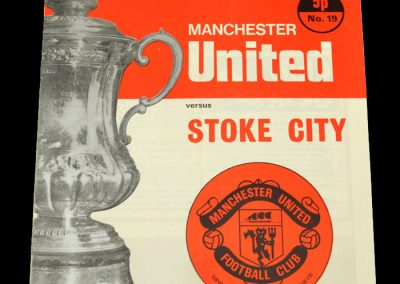 Man Utd v Stoke 18.03.1972 - FA Cup 6th Round