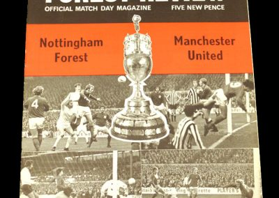 Man Utd v Notts Forest 22.04.1972