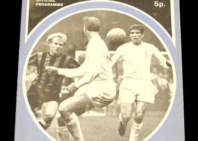 Man City v Leeds 14.08.1971