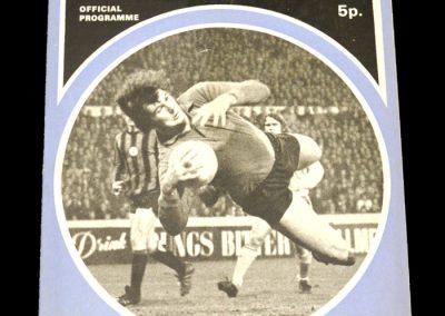 Man City v Crystal Palace 18.08.1971