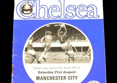 Man City v Chelsea 21.08.1971