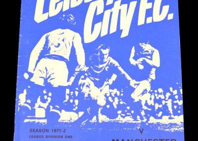 Man City v Leicester 04.09.1971