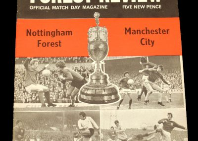 Man City v Notts Forest 18.09.1971
