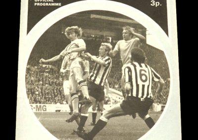 Man City v Hertha Berlin 21.09.1971 - Friendly