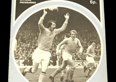 Man City v Everton 09.10.1971