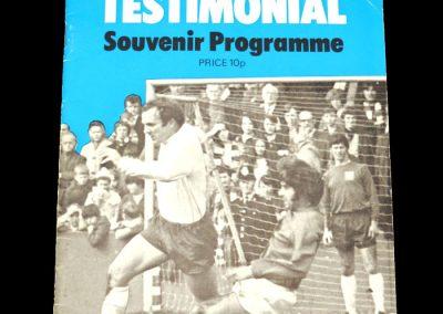 Man City v Preston 15.11.1971 - Sparvin Testimonial