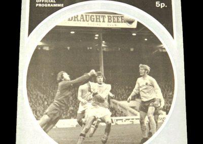 Man City v Leicester 18.12.1971