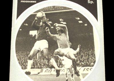 Man City v Notts Forest 01.01.1972