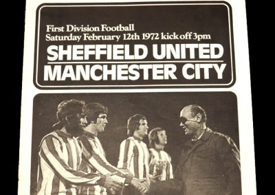 Man City v Sheff Utd 12.02.1972