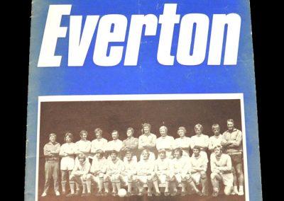 Man City v Everton 11.03.1972