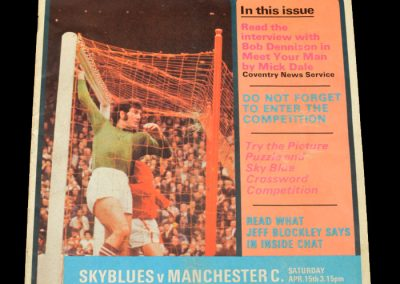 Man Utd v Coventry 15.04.1972