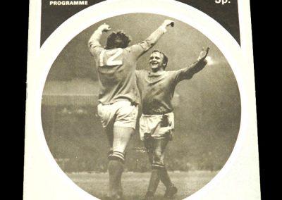 Man Utd v Derby 22.04.1972