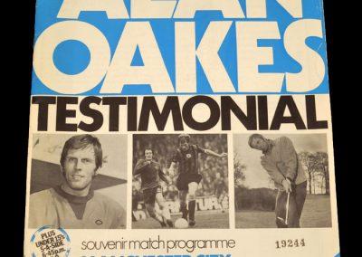 Man City v Man Utd 03.05.1972 - Alan Oakes Testimonial