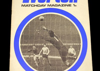 Arsenal v Everton 15.08.1970