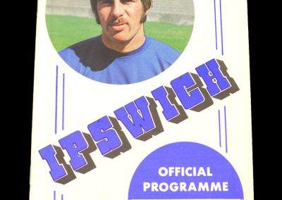 Arsenal v Ipswich 08.09.1970 - League Cup 2nd Round