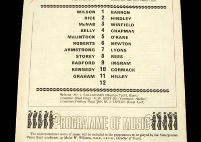 Arsenal v Notts Forest 03.10.1970