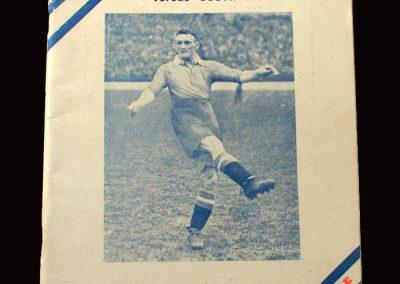 England FA 11 v South Africa 01.07.1939