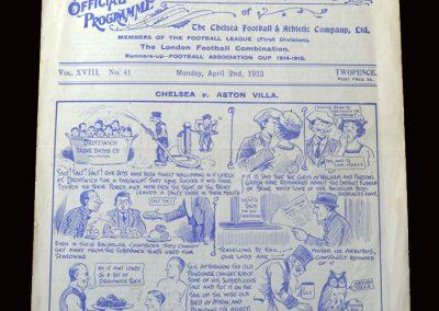 Chelsea v Aston Villa 02.04.1923