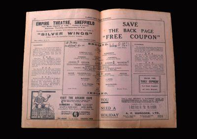 England v Ireland 20.10.1930