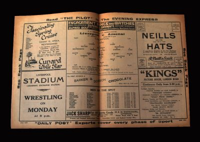 Arsenal v Liverpool 25.01.1936 - FA Cup 4th Round