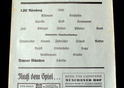 Bayern v Nurenburg 26.12.1939