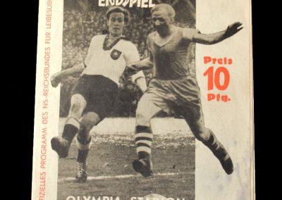 Schalke v Dresden 02.11.1941 - German Cup Final