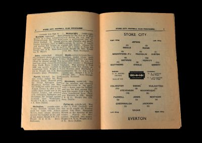 Stoke v Everton 23.11.1946
