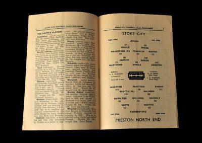 Stoke v Preston 01.02.1947