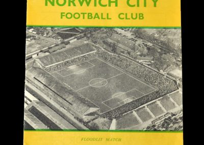 Norwich v The Army 31.10.1956