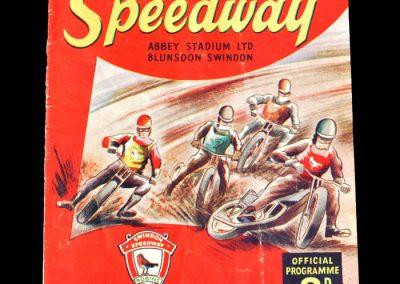 Swindon v Birmingham (Speedway) 02.04.1955