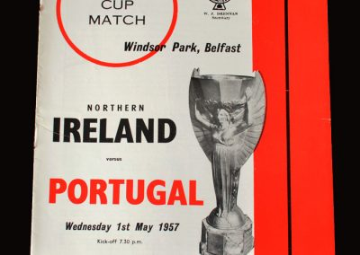 Northern Ireland v Portugal 01.05.1957