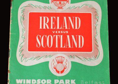 Northern Ireland v Scotland 05.10.1957
