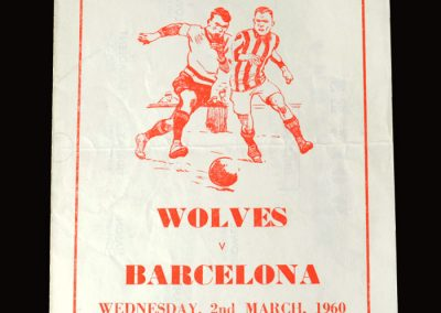 Wolves v Barcelona 02.03.1960 (Pirate)