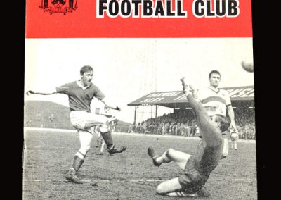 Barnsley v Crystal Palace 30.11.1963 (alternative cover)