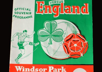Northern Ireland v England 15.05.1971 (Brilliant Best goal disallowed)