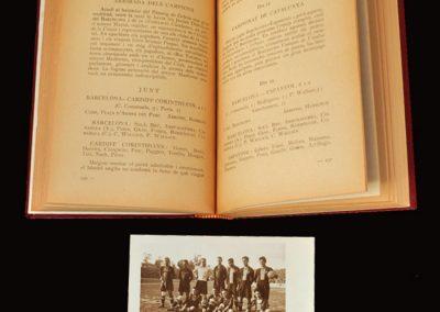 Barcelona v Cardiff Corinthians 01.02.1922