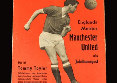 Man Utd v Berlin 14.08.1957