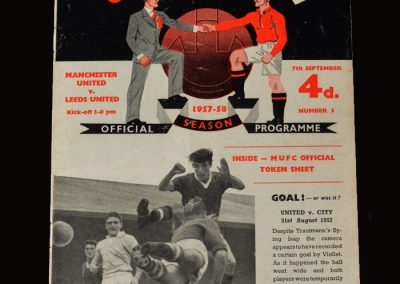 Man Utd v Leeds 07.091957