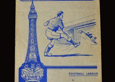 Man Utd v Blackpool 09.09.1957